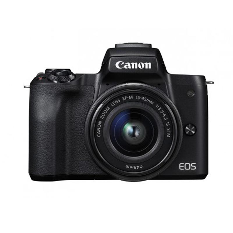 佳能微單反數碼相機m50  EOS M50套機 15-45鏡頭小型入門家用VLOG
