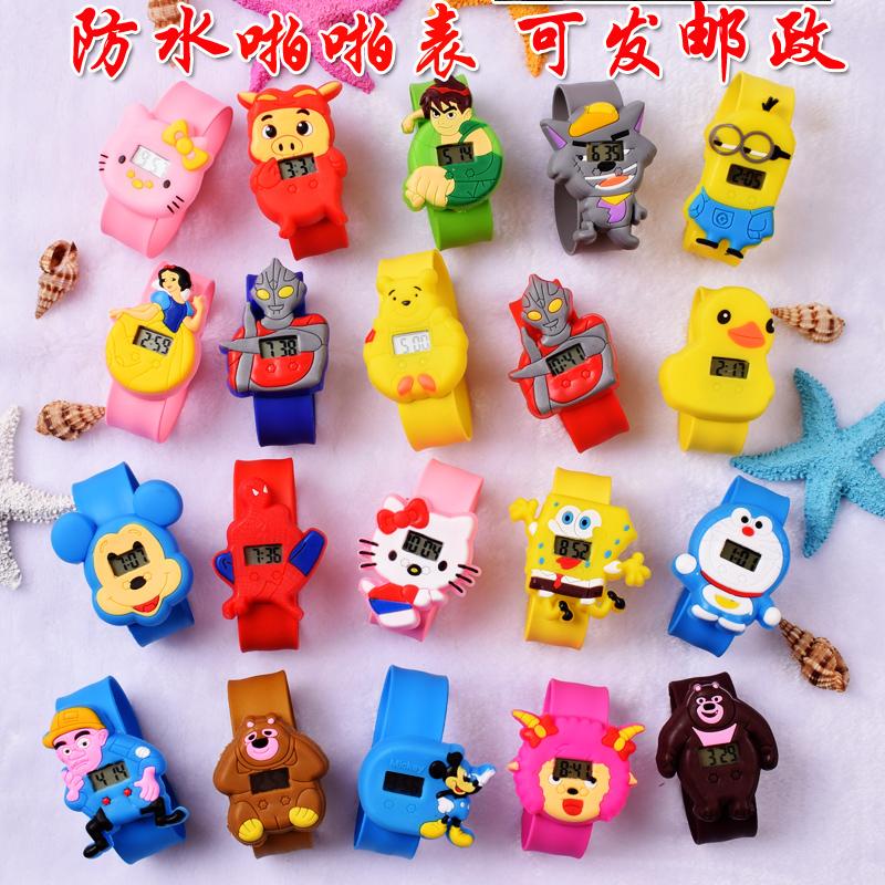 儿童玩具手表女孩宝宝卡通奥特曼防水电子幼儿男童男孩3岁2手表