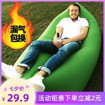 充气床家用双人气垫床单人充气床垫加厚便携气垫床户外懒人榻榻米