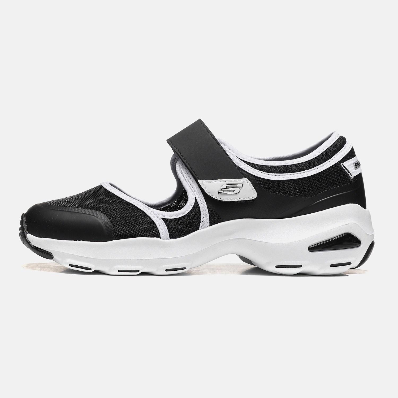Skechers斯凯奇女鞋休闲鞋2018新款D'lites玛丽珍熊猫鞋66666112