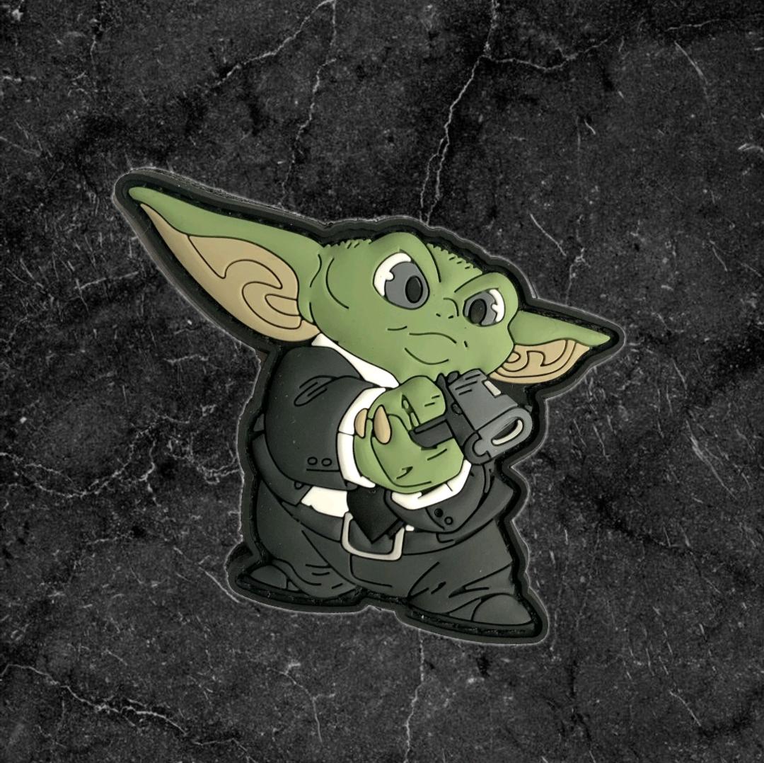 德国Tacopsgear星战曼达洛人小尤达Yoda 战术士气章魔术贴章徽章