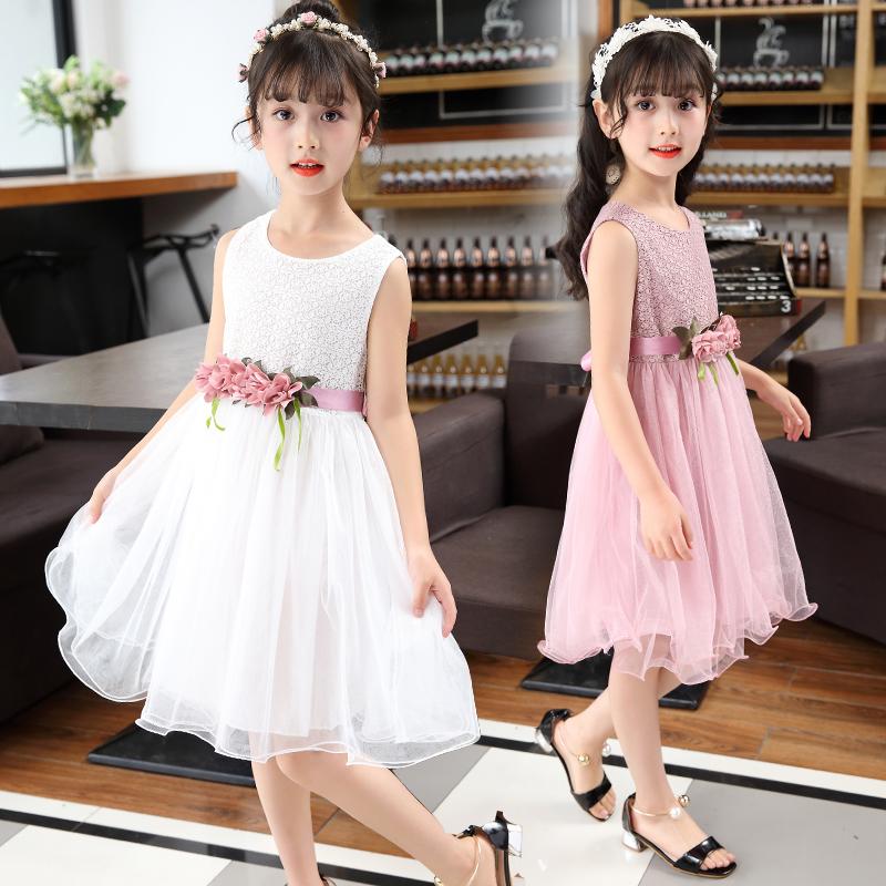 6女童连衣裙夏装2019新款8中大童洋气纱裙10背带12女孩公主裙15岁