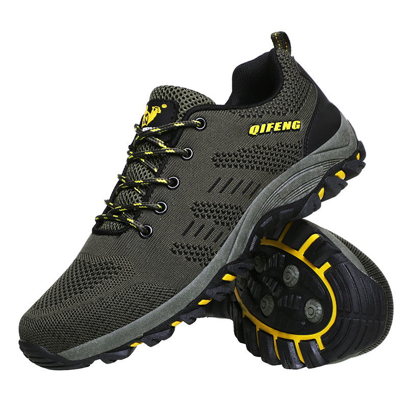 登山鞋New Men Outdoor Hiking Shoes Fishing Athletic Trekking