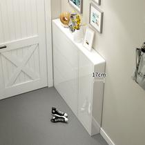 超薄翻斗鞋柜家用门口省空间现代简约玄关入户鞋柜17cm收纳窄门厅