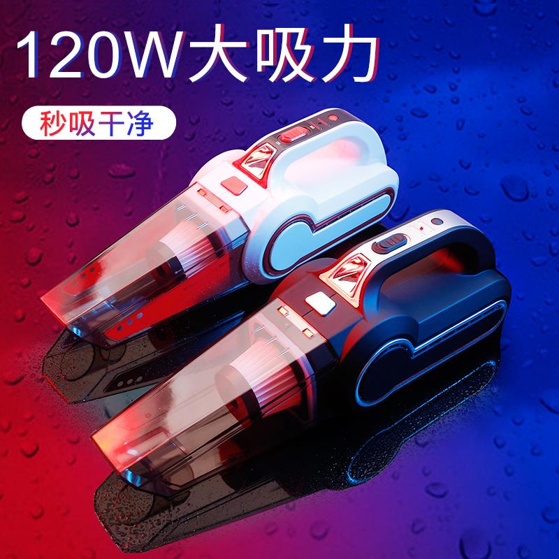 车载吸尘器充气汽车打气泵车内车用家用专两用迷你小型大功率强力