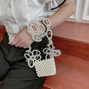 法国小众高级感2021新款洋气珍珠包