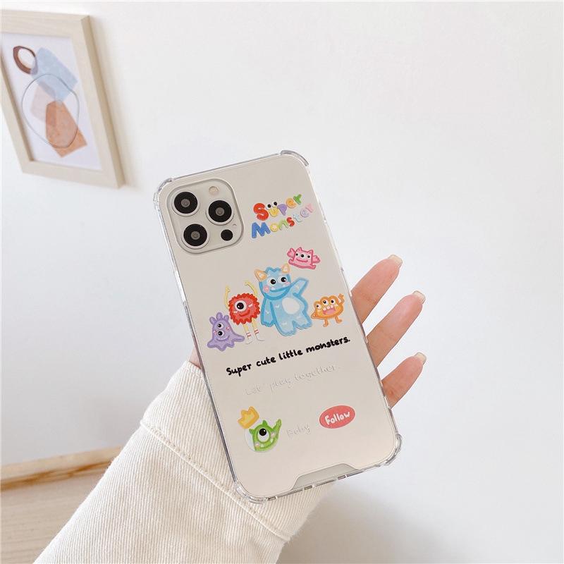 中國代購|中國批發-ibuy99|iphone 7 plus|镜子卡通软壳适用12/11Pro/Max苹果X/XS/XR手机壳iPhone7p女8plus