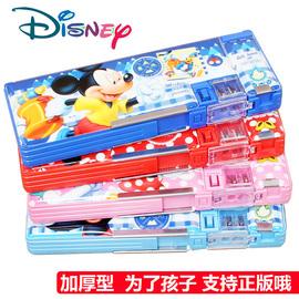 迪士尼笔盒女多功能文具盒高端男铅笔盒双层学霸儿童小学生大容量笔袋幼儿园创意网红款可爱女孩男孩女生男生图片