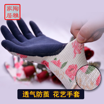 Tauya Home Pine Village Garden Yun Japan imported Floral Gloves anti-thorn flower artist with gloves breathable wear-resistant