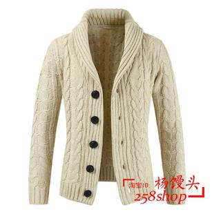 Autumn Winter Sweater Coatl Cardigan for men Свитер