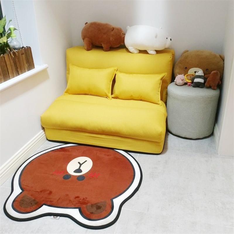 懒人沙发床榻榻米可折叠单人两用阳台卧室女小户型简易躺椅网红款