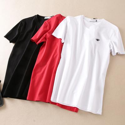 货号230 P100 男士圆领短袖T恤 丝光莫代尔料 标准 最大穿195斤