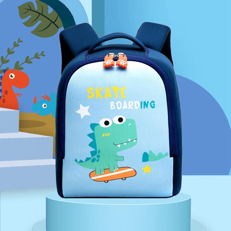 幼儿园书包男女宝宝韩版恐龙3岁5儿童可爱小童背包潮定制印字logo
