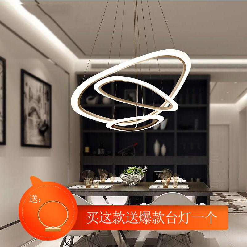 客厅吊灯餐厅大气led饭厅后现代简约个性创意北欧办公服装店灯具