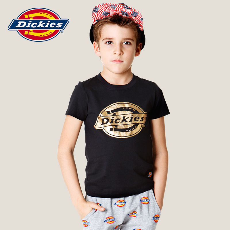 Dickies 男童短袖T恤 夏款兒童中大兒童棉質T恤
