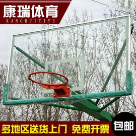 钢化玻璃篮板篮球板户外钢化篮板室内室外钢化玻璃篮板