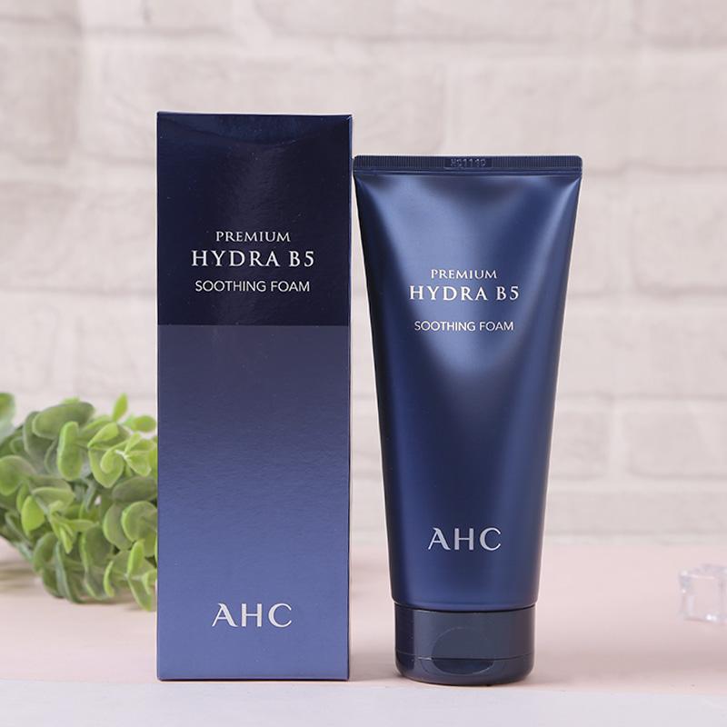 韩国AHC洗面奶深层清洁补水保湿洁面乳 b5玻尿酸男女士洁净透孕妇
