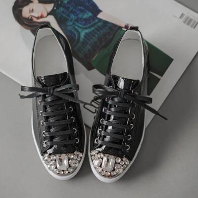 【sol.owen】 южная корея импортировала женская обувь rhinestone toe крест ремни плоские дикие повседневная обувь