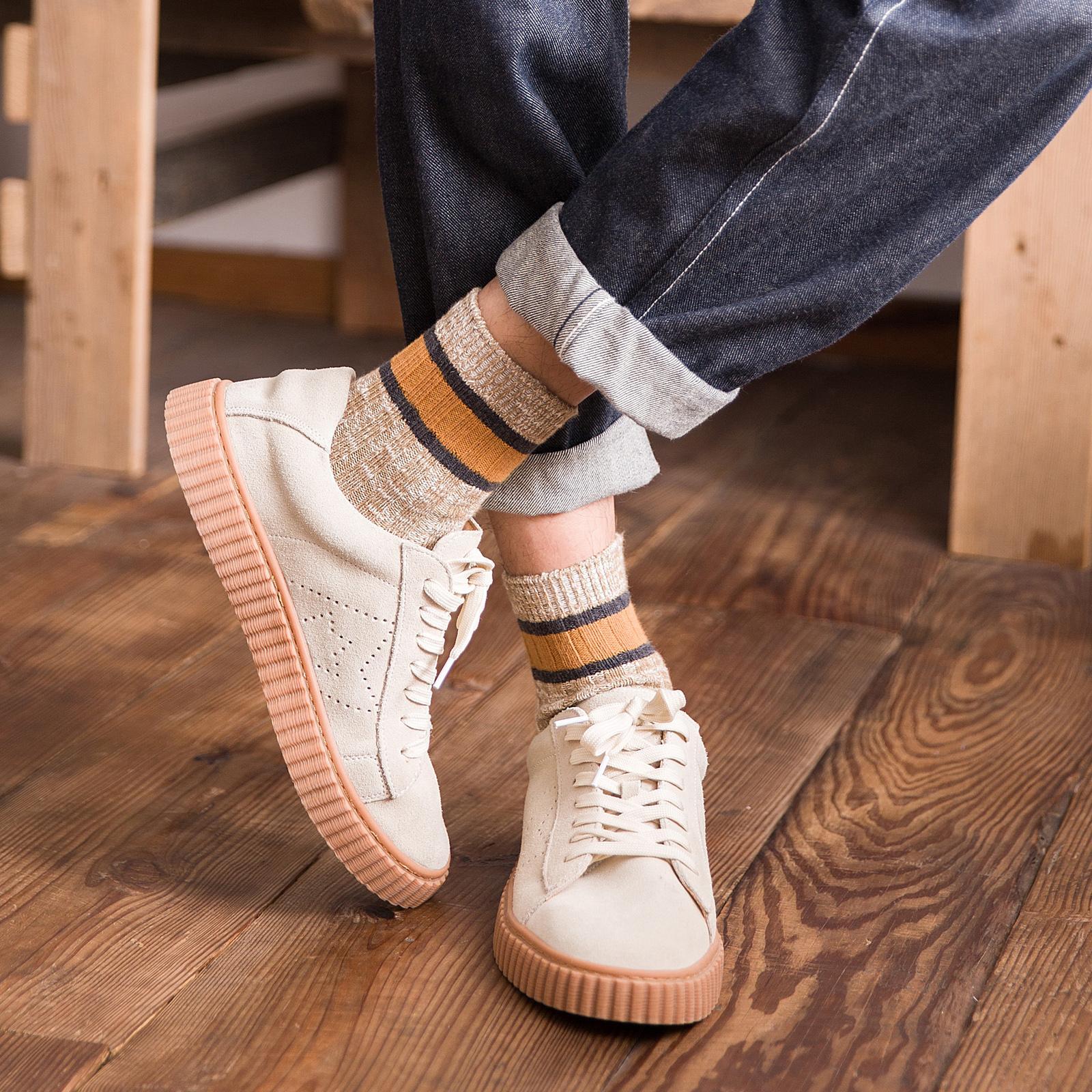正品乔纳阿迪达高帮男袜子潮流长筒袜长袜中筒袜男士纯棉袜毛线袜