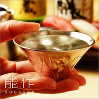 Подлинный япония большой склон холма олово устройство может сделать чистый олово счастливый устройство фудзи гора бокал ликер чашка FUJIYAMA