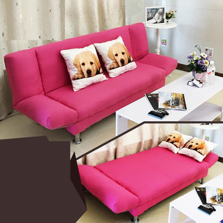 布艺省空间时尚小户型宿舍沙发床热销0件正品保证