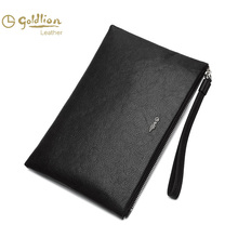 Jin Lilai Men's Bag New Envelope Man's Dermal Handbag Business Leisure Man's Handbag Man's Soft Leather Handbag
