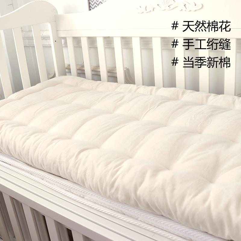 Кровать для младенца матрас хлопок постельные пренадлежности ядро четыре сезона универсальный детский сад магазин находятся хлопок новорожденных ребенок кровать хлопок подушка сын