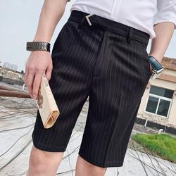2020夏款短裤弹力短裤M6075——P50  80%聚酯纤维 18%粘胶 2%氨纶