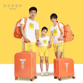 8010亲子迪柯文拉杆箱亲子箱学生清新小型轻便可爱登机旅行箱图片