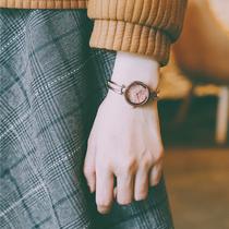 手表女ins风森系学院风简约气质细带小巧文艺复古女生学生小表盘