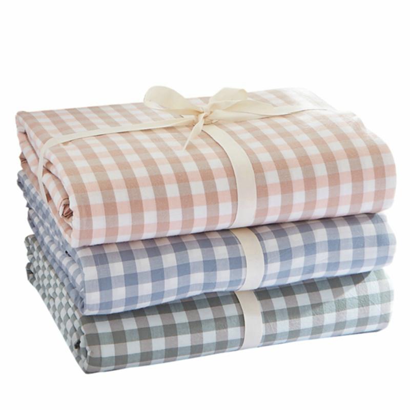 纯棉水洗棉被套单件套1.8x2.0米单人宿舍学生全棉被罩150x200x230