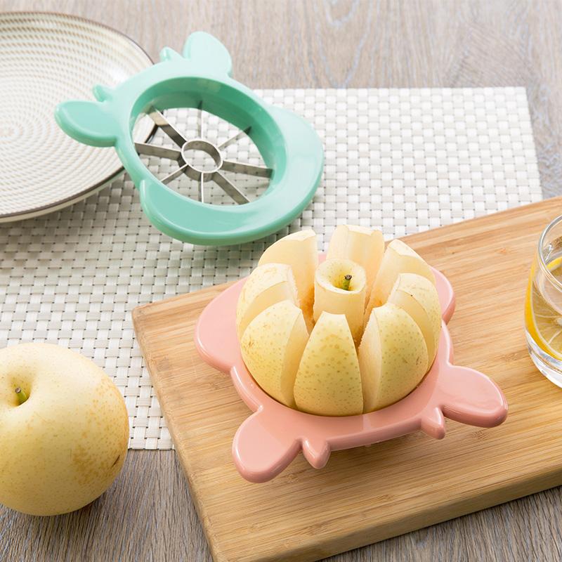 Нержавеющей стали вырезать яблоко идти ядерный устройство фрукты нарезанный устройство домой вырезать фрукты устройство инструмент сегментация устройство резка устройство яблоко нож
