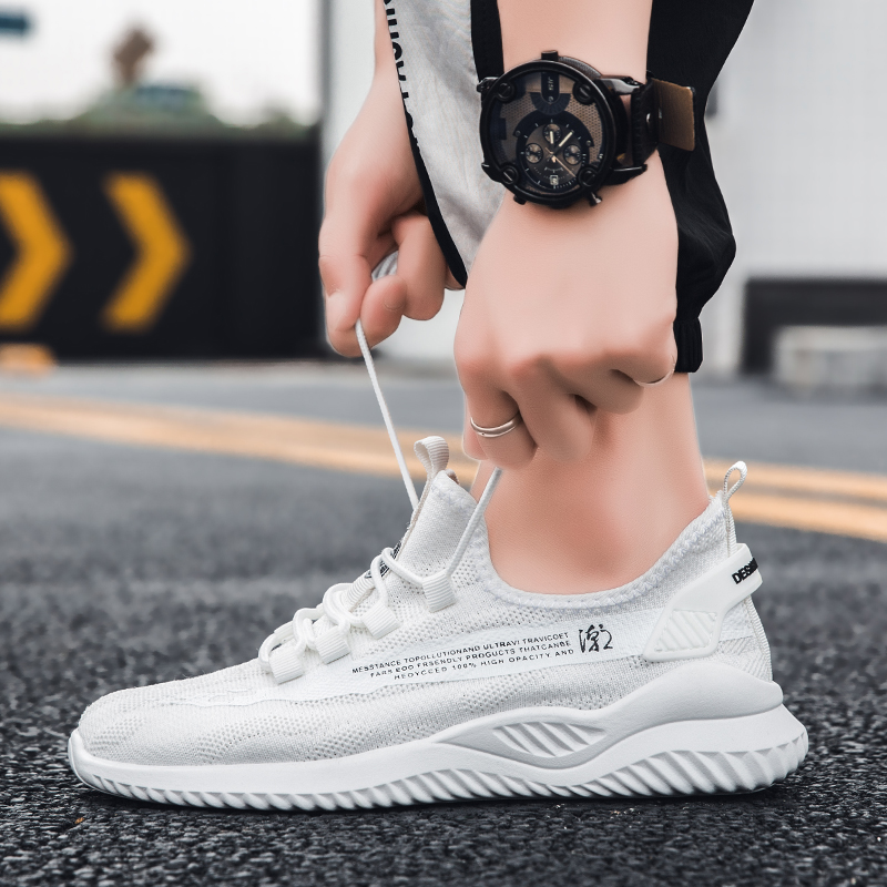 2020 new summer Korean fashion mens shoes versatile sports casual board shoes mens net red ins fashion shoes
