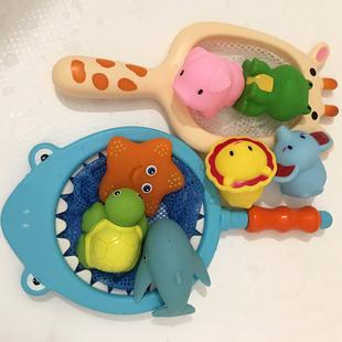 宝宝网捞捞鱼戏水益智无毒洗澡玩具