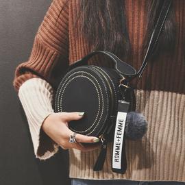 法国小众包包女包春夏新款2020网红时尚百搭单肩斜挎包手提小圆包图片