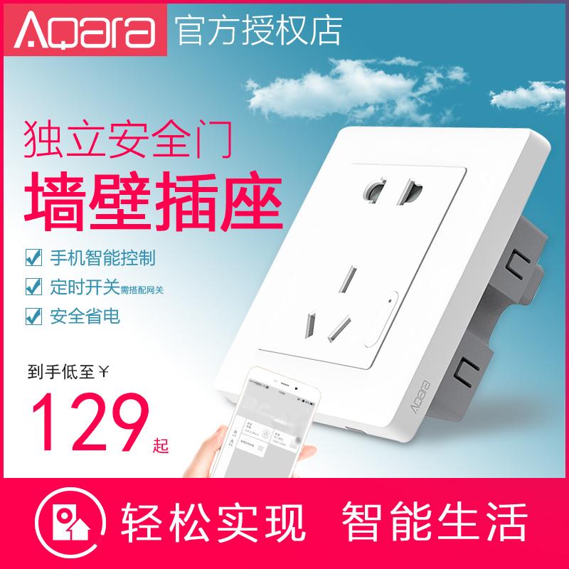 Aqara Green Meter Wall Смарт-сокет-счетчик Home Smart Home Surface панель Разъем для мобильного пульта дистанционного управления типа 86
