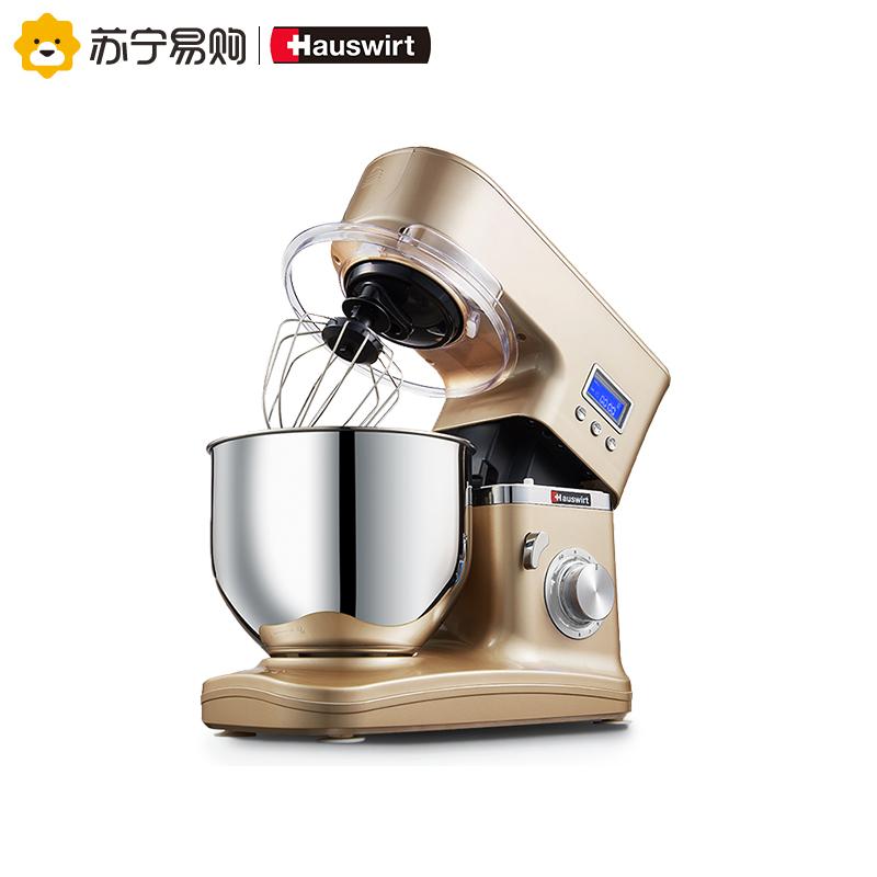 海氏 厨师机家用和面机料理机多功能揉面机鲜奶机电子式HM740