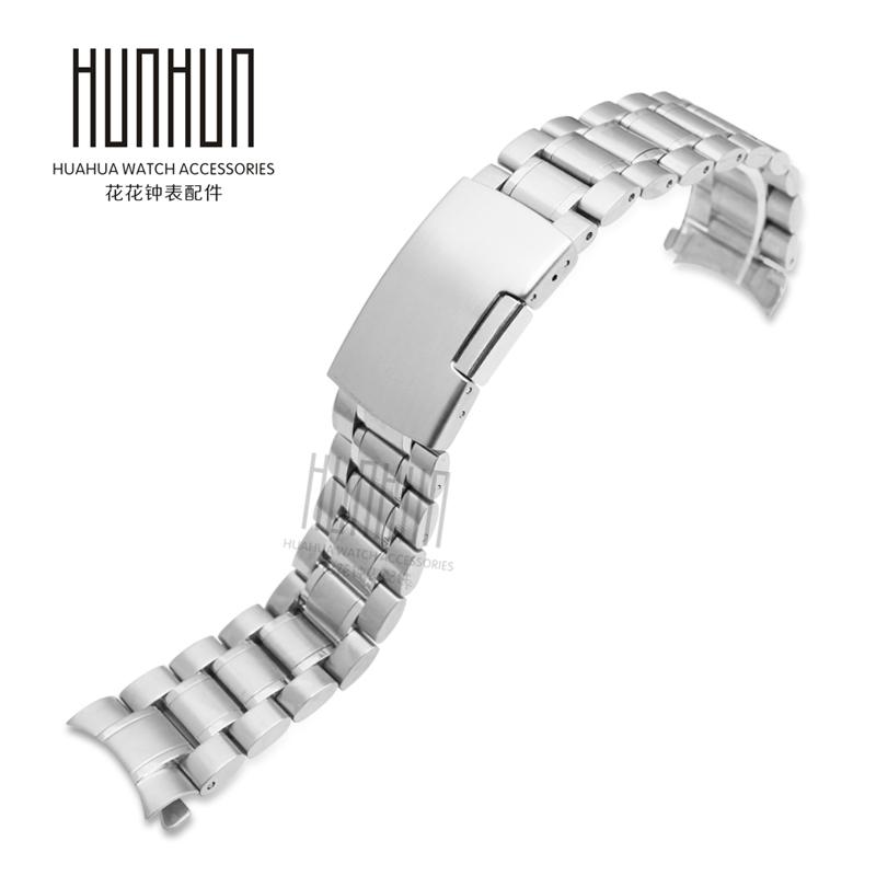 卡西欧MTP-1374 1375 MTH-5001表带 手表链 实心不锈钢带 22mm 男