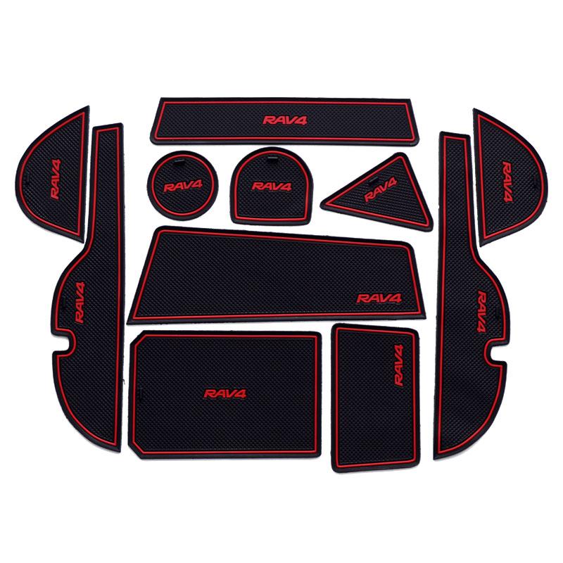 丰田09-18款新RAV4荣放改装配件 汽车装饰用品 车载防滑垫 防脏垫