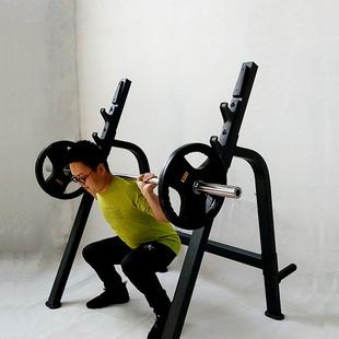 深蹲架商用杠铃卧推架多功能举重床一体床室内架专业家用健身器材