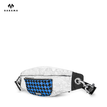 Babama fashion partner fourtry same chest bag men's waist bag fashion brand hip hop One Shoulder Messenger Bag men