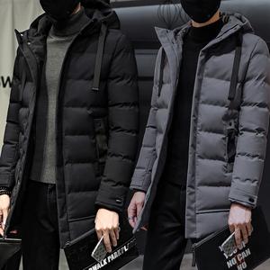男士棉衣中长款外套青年潮流冬季加厚棉袄10万库存主推款9588P100