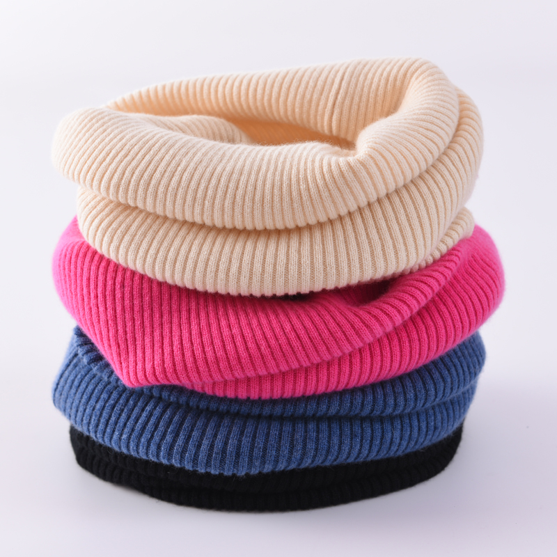 Pure cashmere scarf with neck cover for men and women in autumn and winter