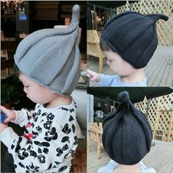 2020秋冬儿童帽子女宝宝针织帽男童毛线帽婴儿保暖护耳小孩亲子帽