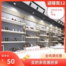 鞋店鞋架展示架鞋店装修货架开店用的鞋架童鞋店货架潮鞋店鞋货架