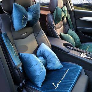 北欧丝绒汽车坐垫四季通用座套网红全包围座垫高档车改装专用汽车