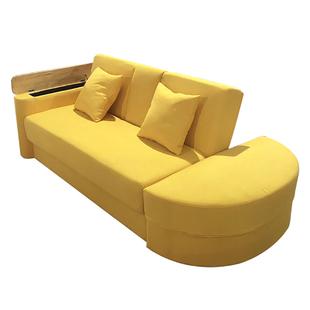 小户型沙發牀兩用多功能客廳三人北歐簡約租房布藝小沙發網紅款