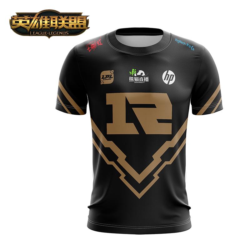 英雄联盟 LOL 2018 RNG 队服上衣 中性款 游戏周边 官方授权