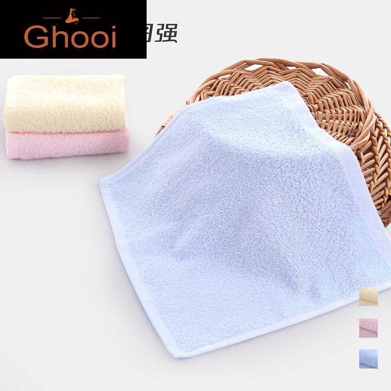 3条装 竹浆纤维小方巾婴幼儿园儿童毛巾美容洗脸面巾卸妆,可领取30元天猫优惠券