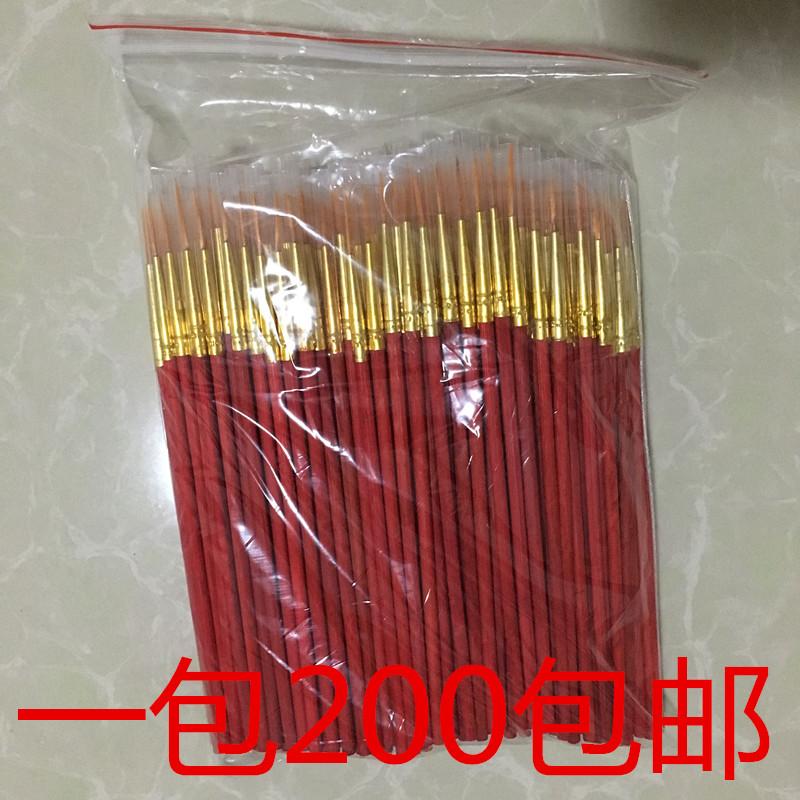 Красный Маленькая ручка-крючок-крючок с крючком-крючком с маленьким кисточкой для бровей бровей Карандаш с нарисованным тоном на заводе Лакокрасочная ручка